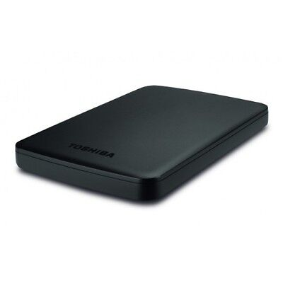 "NEW TOSHIBA Canvio Basics 1TB USB 3.0 External Hard Drive 2.5"" HDD HDTB310EK3BA"