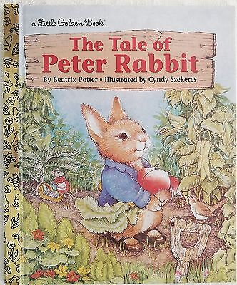 The Tale of Peter Rabbit by Beatrix Potter. Little Golden Book. Free postage!