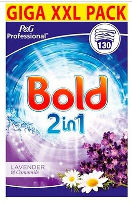Bold Lavender & Camomile Washing Powder 2in1 130 Wash Family Bulk Buy Detergent