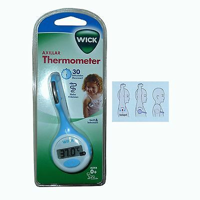 WICK Axillar Thermometer W-932F Kinder Baby Fieberthermometer NEUWARE