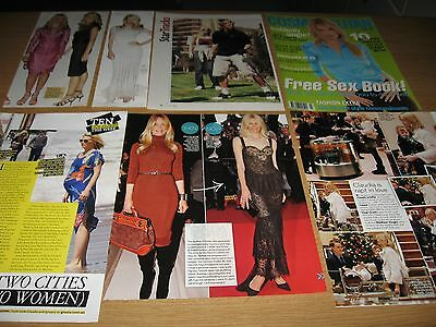 CLAUDIA SCHIFFER -  Magazine and Newspaper Clippings
