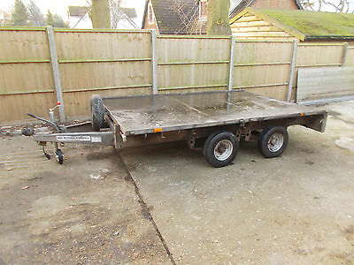 IFOR WILLIAMS 10 x 6'6 FLATBED TRAILER
