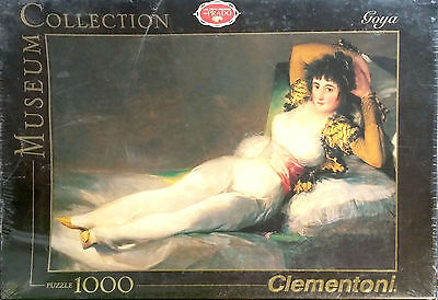 Puzzle 1000 PIECES GOYA Museum Collection, Clementoni  NEUF SOUS BLISTER     /A1