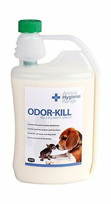 Odor-Kill Powerful deodoriser eliminate ammonia doggy smells Male cat odour Bins