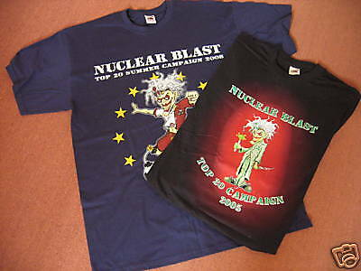 'Nuclear Blast' Promotional T-shirts  Large & XL