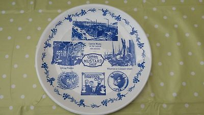 Colemans Mustard decorative plate
