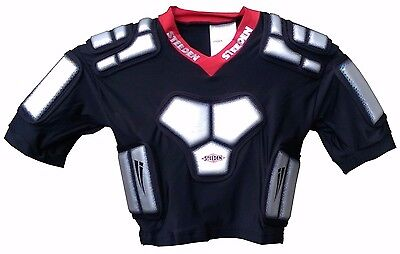New Steeden Rhino Rugby League Shoulder Pads - Youths