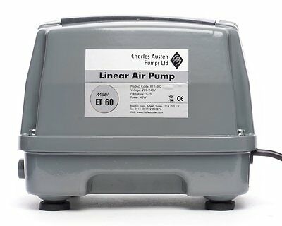 Charles Austen ET60 Air Pump for Sewage or Pond Aeration (Free delivery)