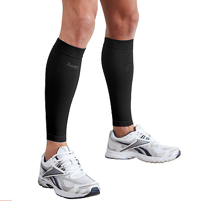 Actesso Calf Support Sleeve PAIR - Running, Pain, Shin Splints, Compression