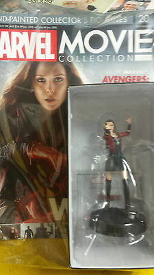 Marvel Movie Collection = Figurine,=Scarlet Witch, =Issue- 20