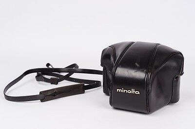 Minolta every ready case and strap for SRT
