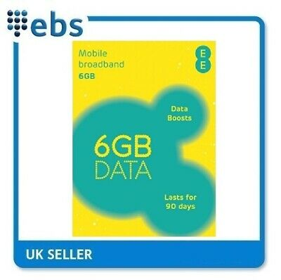**SALE** EE PAYG 4G Data Sim Preloaded With 6GB Data