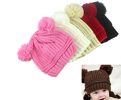 Baby new style winter warm hat cap Knit