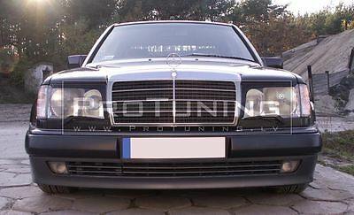 Mercedes E W124 eyebrows headlight spoiler lightbrows eye lids brows covers C124