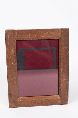 Vintage Wooden Contact Printing Frame for Half plate 4 3/4 by 6 1/2