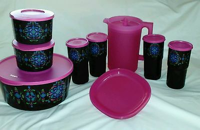 NEW Tupperware Kaliopi Fiesta Collection Set