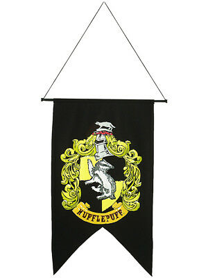Discontinued Harry Potter Rare Hufflepuff Banner Flag