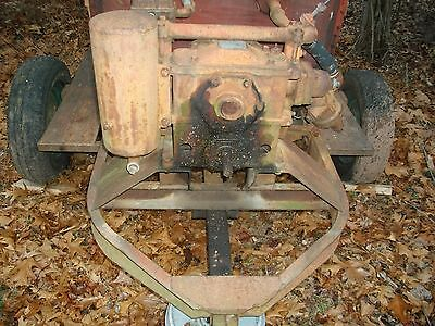 1949 Ford Tractor & Friend Vintage Orchard Sprayer