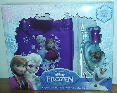 NEW Disney Frozen Elegance Eau de Toilette 50ml & Gift Bag