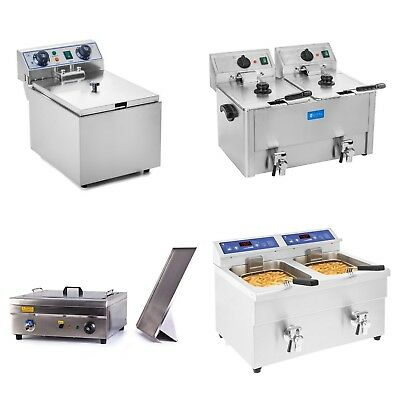 Professional Fryer Deep Fat Fryer Stainless Steel Electric Gas And Cold Zone