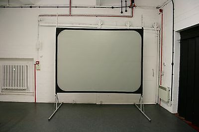 8ft x 6ft Harkness Front & Rear Projection Screen Fastfold Kit