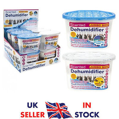 LARGE Interior Dehumidifier Home Damp Mould Mildew Moisture Remover 500ML UK