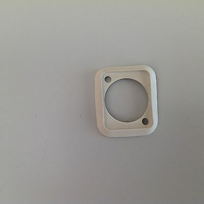 Neutrik SCDP-9 White Sealing Rubber Gasket for D size chassis / panel sockets