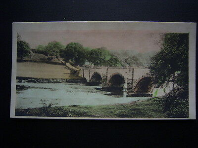 Cavenders Cigarette Card 1926 F108 River Valleys No56 Brungerley Bridge (e18)