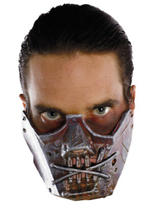 New Silence of the Lambs Hannibal Lecter Crazy Cannibal Costume Mask