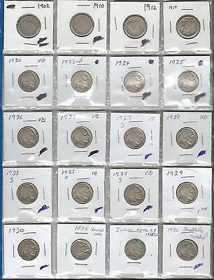 United States Nickles 1902-1936