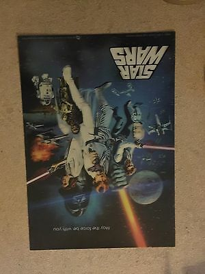 Star Wars Poster Holographic