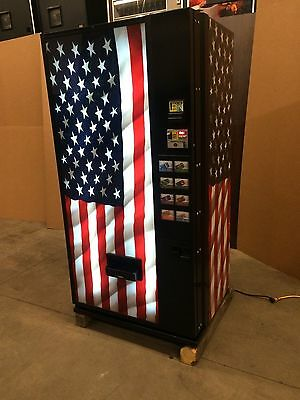 Dixie Narco 501T Can Vending Machine Multi-Price