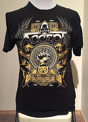 Accept Blood of The Nations Tour T-Shirt 2011 Rare! Med Lg