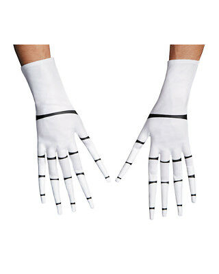 Adult's Jack Skellington Gloves A Nightmare Before Christmas Costume Accessory