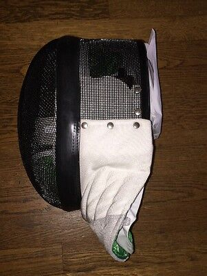 Foil Fencing Mask: 350N Protection With Conductive Bib And Removable Lining XL