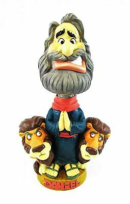 Bible Character Bobblehead Nodder Daniel and the Lions Den New 2002 Isaac Bros.