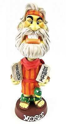 Bible Character Bobblehead Nodder Moses Ten Commandments New 2002 Isaac Bros.