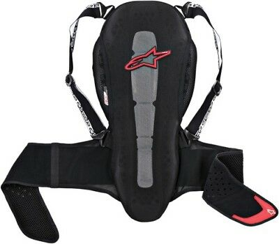 Alpinestars Small Nucleon KR-2 Back Protector Black 6504615-13-S 2702-0167