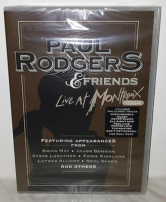Dvd Paul Rodgers & Friends - Live At Montreux 1994 - Nuovo New