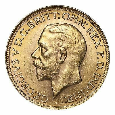 South Africa George V Gold Coin 1931-SA Gold Sovereign