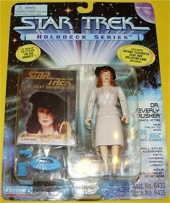 Star Trek Playmates TNG - Dr. Beverly Crusher (1940´S attire) #06435