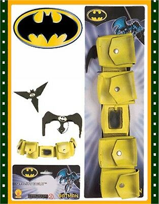 Adults Costume Batman Utility Belt Batbelt FREE BONUS