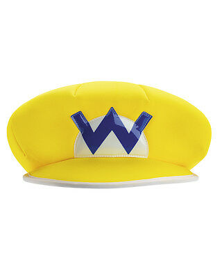 Adult's Nintendo Super Mario Brothers Wario Villain Hat Costume Accessory