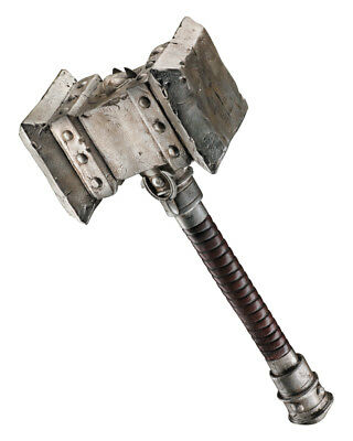 Adult's World Of Warcraft Silver Doom Hammer Costume Accessory