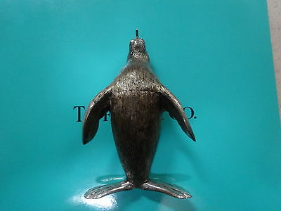 Tiffany & Co Gene Moore circus figurine sterling silver seal enamel Italy rare