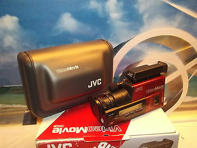 Vintage JVC GR-25U Compact Video Movie Camera With Original Case and Box