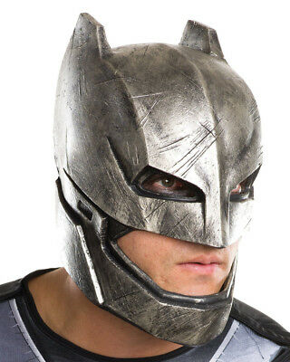 Adults Batman V Superman Dawn Of Justice 3/4 Armored Mask Costume Accessory