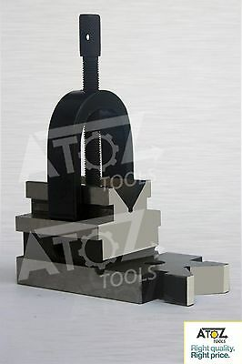 Atoz Toolmakers Ultimate All Angle  Vee V Block & Clamp Set (Hardened)