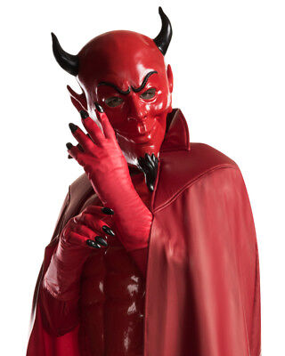 Adults Scream Queens Red Devil Hell Demon Hand Gloves Costume Accessory