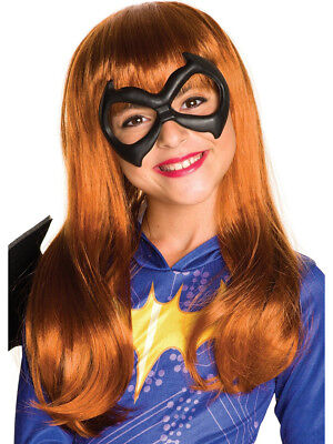 Child's Girls DC Super Hero Girls Batgirl Wig Costume Accessory